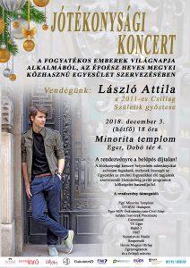 EFOESZ_Jótékonysági koncert_László Attila