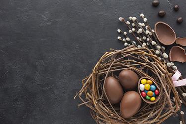 csokitojások