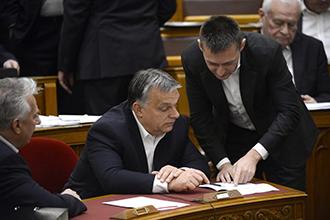 Orbán Viktor; Semjén Zsolt; Rogán Antal